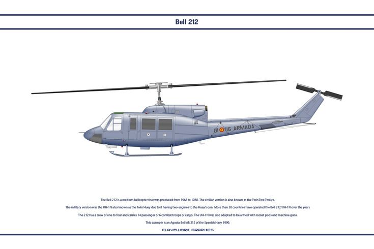 Bell 212 Spain 1 by WS-Clave