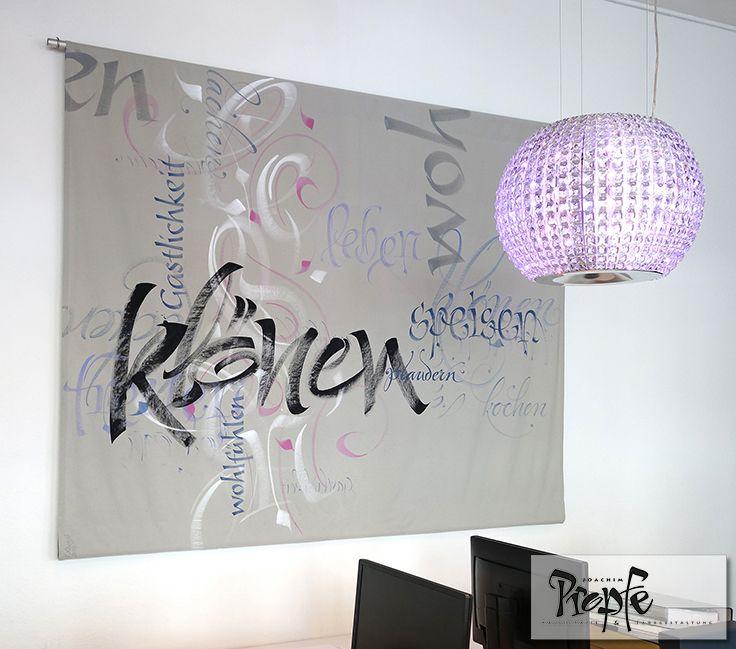 1000 images about calligraphy interior design schriftwände on