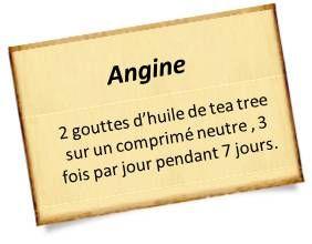 huile tea tree angine                                                                                                                                                                                 Plus