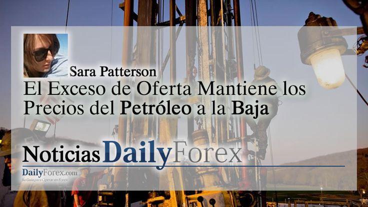 El Exceso de Oferta Mantiene los Precios del Petróleo a la Baja | EspacioBit -  https://espaciobit.com.ve/main/2017/07/19/el-exceso-de-oferta-mantiene-los-precios-del-petroleo-a-la-baja/ #Forex #DailyForex #Petroleo #Precio #Oil #Mercado