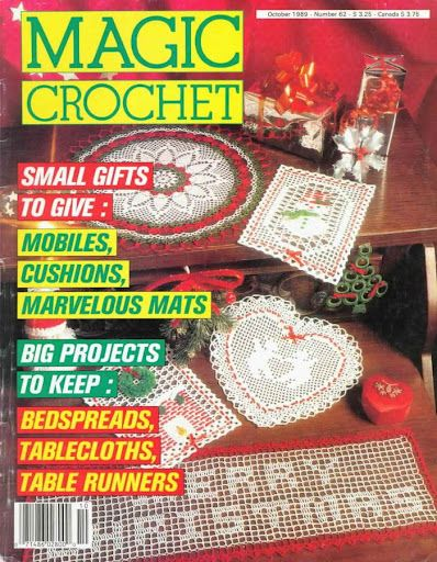 Revista Magic Crochet n°62 - Lucilene Donini - Picasa Web Albums!