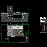 Detalle De Pileta De Hormigon. (dwg - Dibujo de Autocad) - Detalles Constructivos