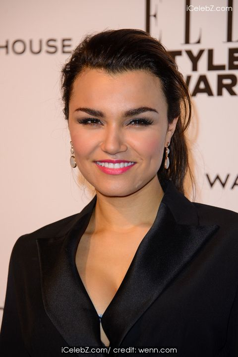 Samantha Barks Photo      The Elle Style Awards 2014 http://www.icelebz.com/events/the_elle_style_awards_2014/photo125.html
