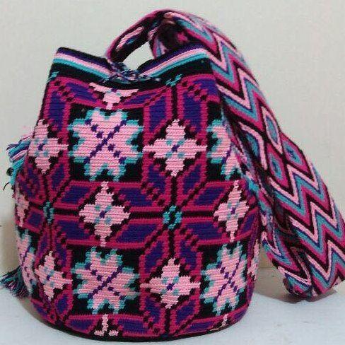 Mochila Wayuu especial. Dic.12-03.