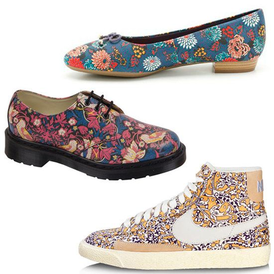 Liberty London Collaborates With Nike, Clarks and Now Dr Martens — Shop Their Floral Footwear