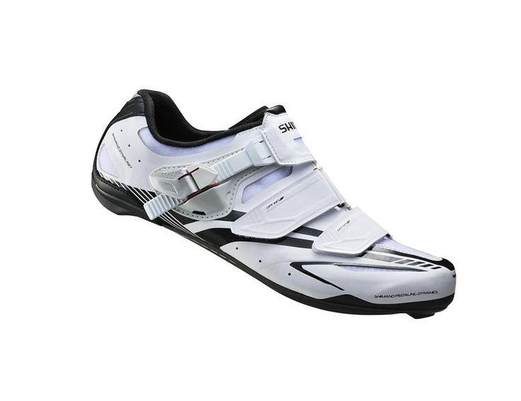 Shimano SH-R170 hvid racer sko carbon sål