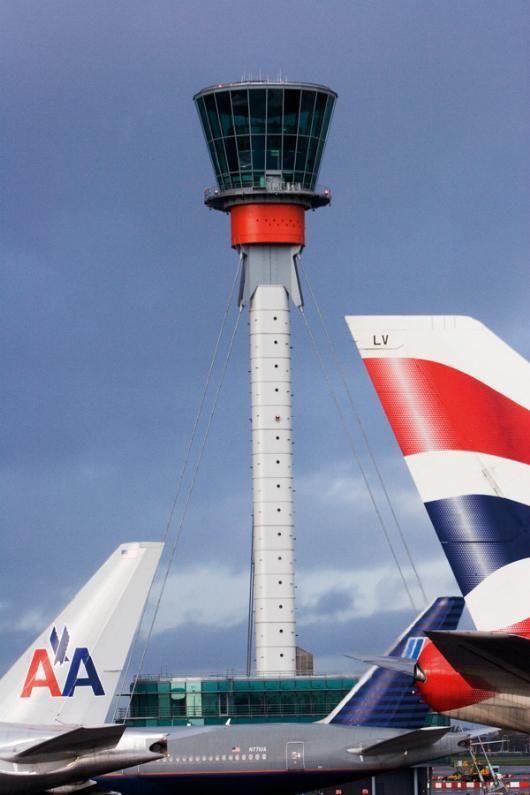 Heathrow Control Tower by Richard Rogers Partnership www.portr.com #LuggageFreedom