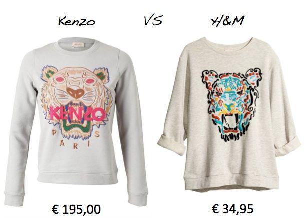 kenzo H&M catalogo collezione