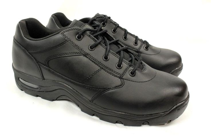 Magnum Mens Viper Low Boot Black Leather Work Shoes Size 15 W #Magnum #WorkSafety