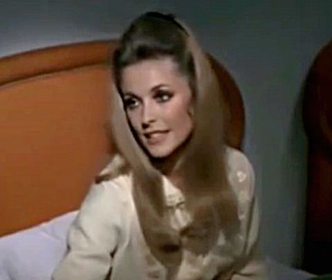 Sharon Tate in a scene from 'Valley of the Dolls'
