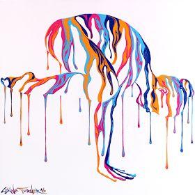 Psychameleon Transcendence 4.0 Painting by Shane Turner