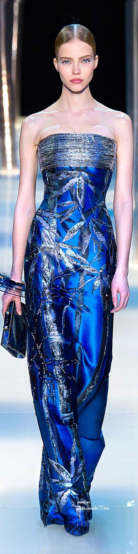 The Gown Boutique / karen cox.  Armani Privé Spring 2015 Couture  ♔THD♔