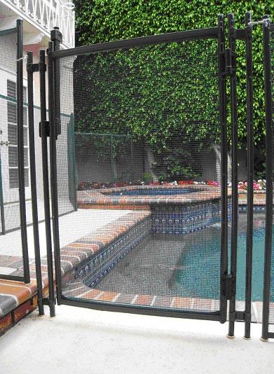 pool fence los angeles