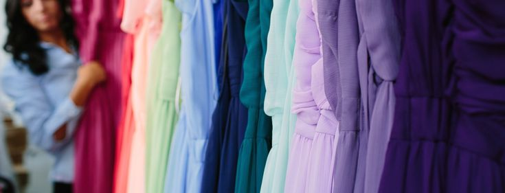 Bridesmaid Dress Rentals Made Easy with Union Station. #weddings #bridesmaids #dresses #rental