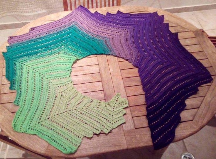 duinen II shawl