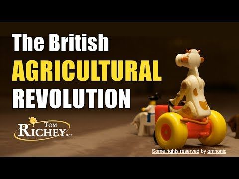 ▶ British Agricultural Revolution & Enclosure Movement (AP Euro) - YouTube