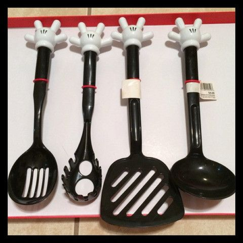 Attrayant Pretty You By Me Accessories   Mickey Mouse Kitchen Utensils