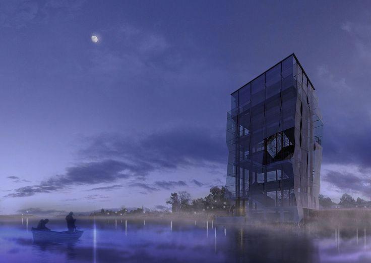 Imagen para Proyecto Final de Carrera. Taller Danza. Facultad de Arquitectura. UdelaR. Montevideo. Uruguay. Año 2011. Autores de proyecto: Fiorella Cobas y Lucía Veirano