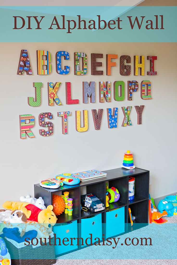 Playroom Wall Decor best 25+ alphabet wall ideas on pinterest | playroom decor