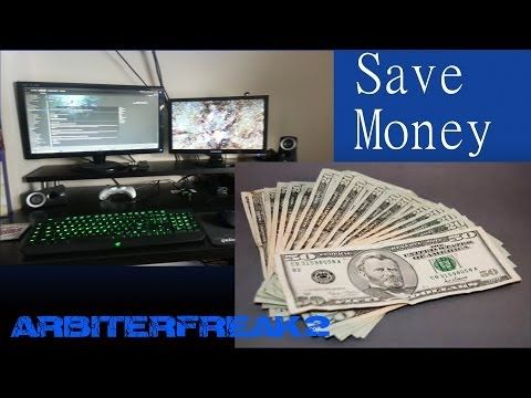 Tips For A Cheap Gaming Setup - YouTube