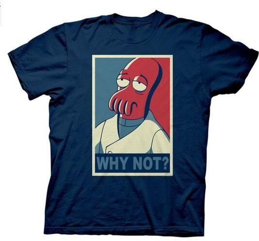 Hot Selling 100 % Cotton Futurama Why Not Zoidberg T-Shirt Funny T Shirt Men //Price: $20.88 & FREE Shipping //     #hashtag1