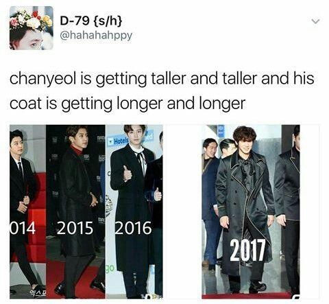 His coat legit grows with him :')