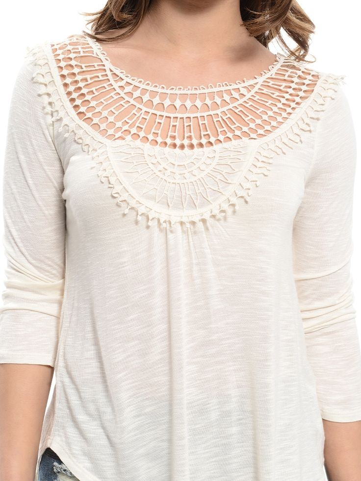 Shop ModDeals.com for Ivory Festival Style Crochet Insert Top in our cheap trendy Tops category. Find trendy cheap clothing for women, discount shoes, jewelry sales, perfume & cheap accessories for wo