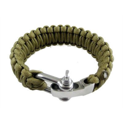 Adjustable cable parachute #paracord survival #strap bracelet with steel #buckle ,  View more on the LINK: http://www.zeppy.io/product/gb/2/262601190401/