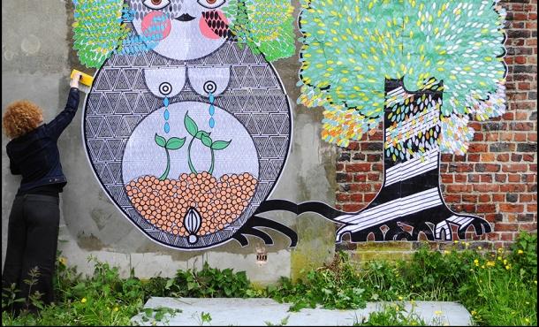 Sara Conti - matroejska's als street art