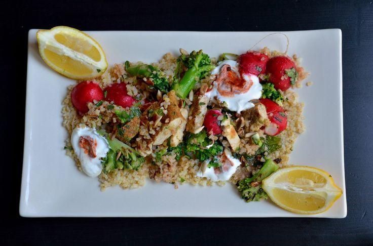 salade poulet Jamie Oliver 15 minutes