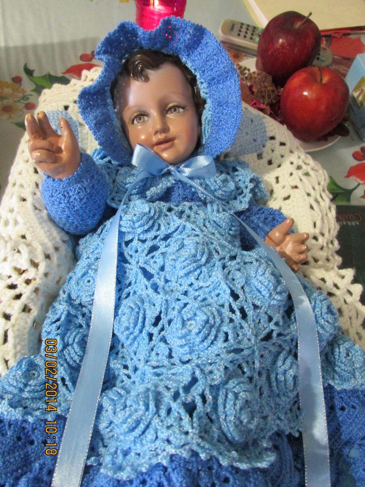Hermosa Los Patrones De Crochet Libre Viste Niño Cresta - Manta de ...