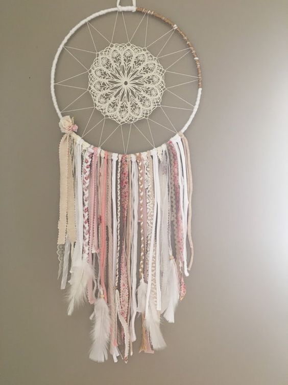 best 25 doily dream catchers ideas on pinterest dream catchers dream catcher and doily art. Black Bedroom Furniture Sets. Home Design Ideas