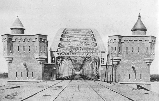 Railroad-bridge Nijmegen (NL)
