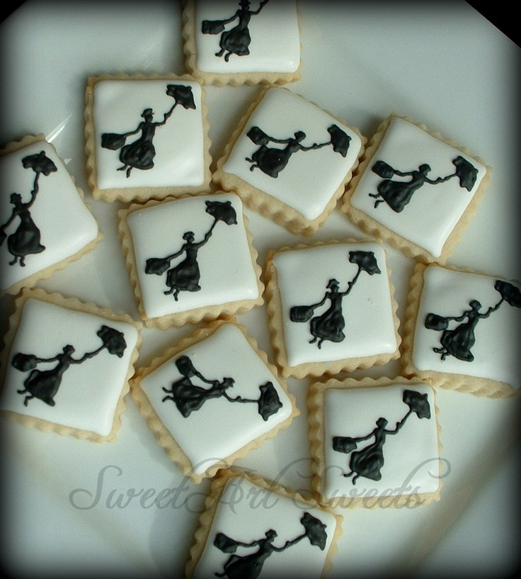 Mary Poppins mini cookies