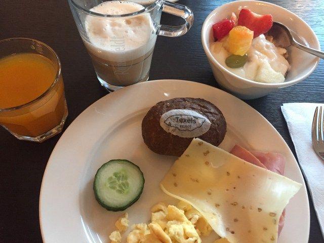 Frühstück auf Texel im Hotel De Lindeboom
