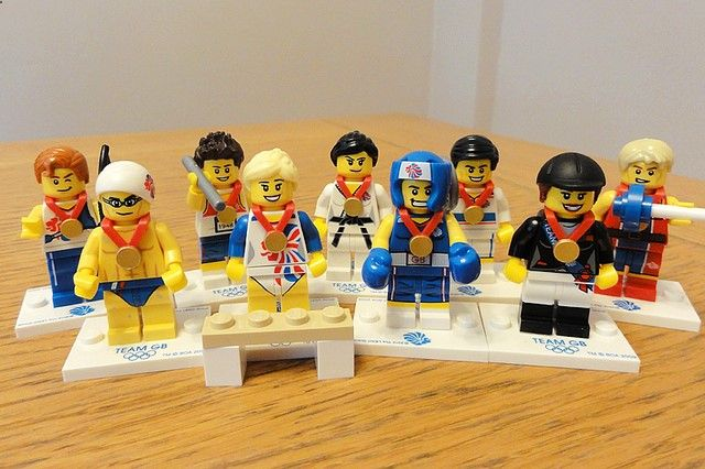 Lego Minifigures - London Olympics 2012 by Dale Hayter, via Flickr