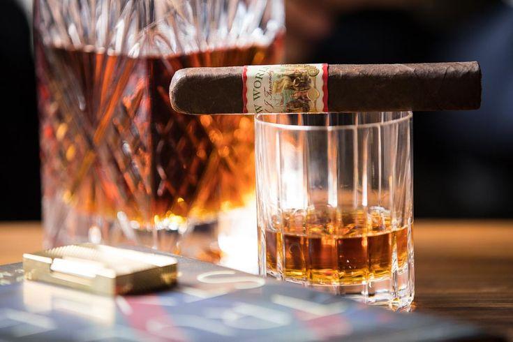 Cigar Review: AJ Fernandez New World Robusto  http://hespokestyle.com/aj-fernandez-new-world-cigar-review/