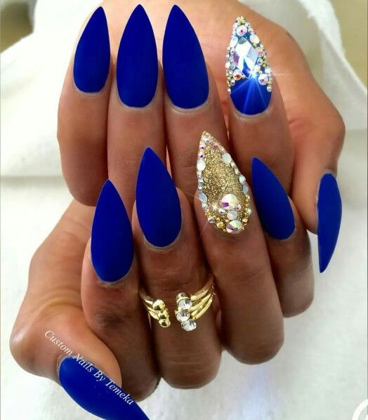 Best 25 royal blue nails ideas on pinterest blue matte nails royal blue nails prinsesfo Images
