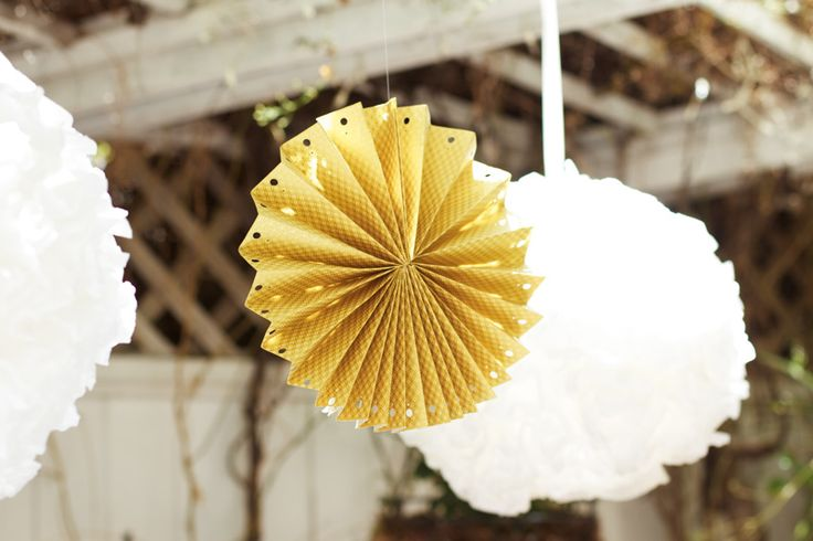 How to make a Paper Rosette    #diy #paper #rosette