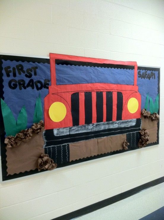 Back to school bulletin board-- thank you pinterest!