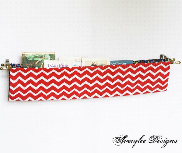 The 25 best book sling ideas on pinterest fabric bookshelf how chevron fabric book sling diaper caddy fabric book shelf magazine sling nursery solutioingenieria Choice Image