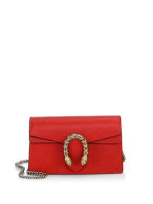 3e0b74dc0a1 GUCCI Dionysus Leather Mini Chain Shoulder Bag.  gucci  bags  shoulder bags   crystal  suede  lining