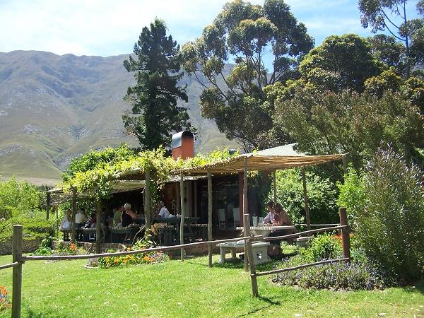 Country Cookhouse in Hermanus Zuid Afrika. Lees alles over dit verborgen plekje / droomconcept in ons artikel.