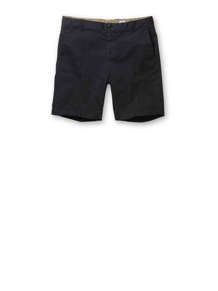 C.P. Company Stretch Ottoman Shorts in Blue