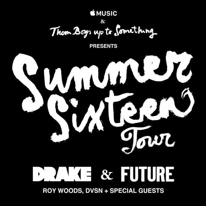 "Drake & Future Announce ""Summer Sixteen"" Tour Dates"