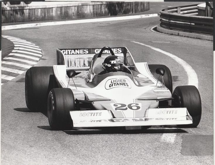 JACQUES LAFFITE LIGIER MATRA JS9 MONACO GP 1978 F1 ORIGINAL PERIOD PHOTOGRAPH