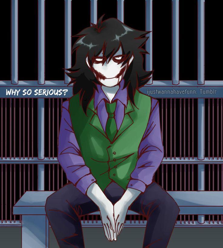 Jeff the Killer - Joker Reject
