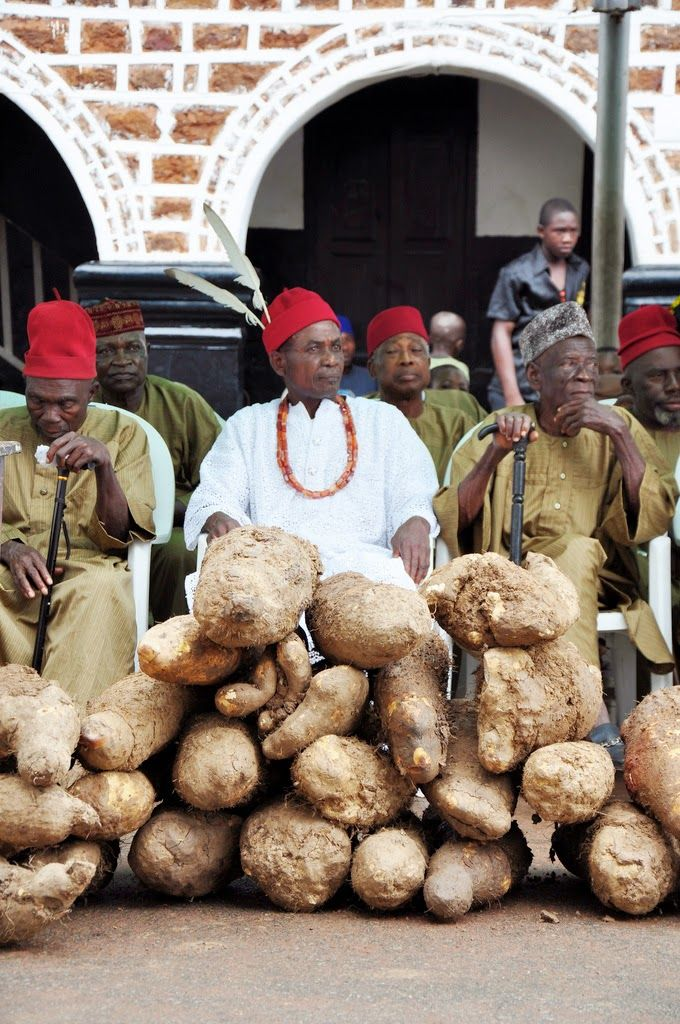 Marie's Pastiche: West African Yam Festival