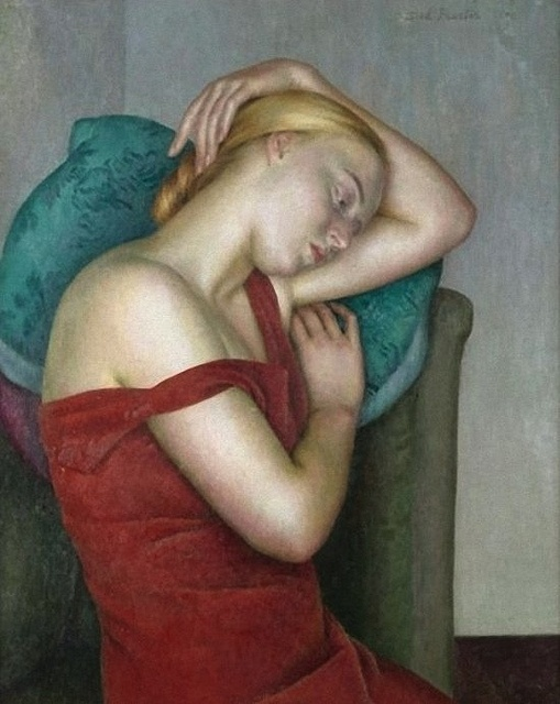 Dod Procter - (born Doris Margaret Shaw, 1890 – 1972): English artist, & wife of artist Ernest Procter. http://www.flickr.com/photos/bo_fransson/6896559562/in/photostream/