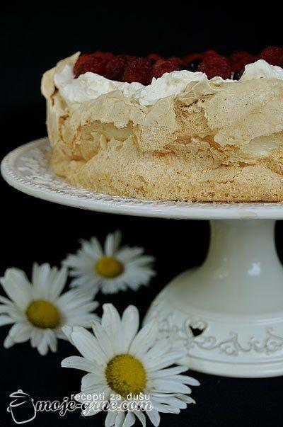 Beze torta sa malinama i crnim ribizlama: Crnim Ribizlama, Grne Blog, Abc Kre, Beli Fil, Fil 200G, Moje Grne, 150G Maslaca, Beze Torta, 200G Abc
